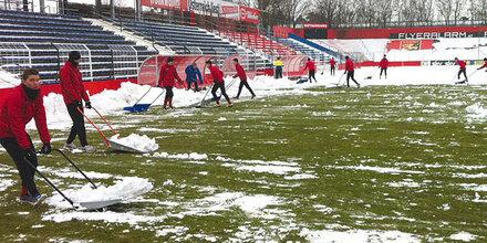 Bundesliga-Partie Admira Wacker gegen Salzburg abgesagt