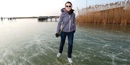 Eislaufen noch untersagt