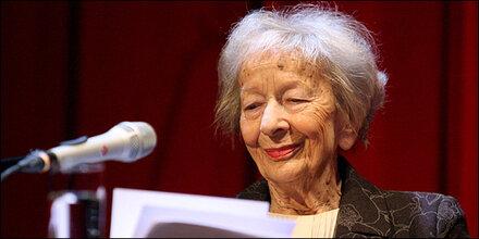 Wislawa Szymborska ist tot
