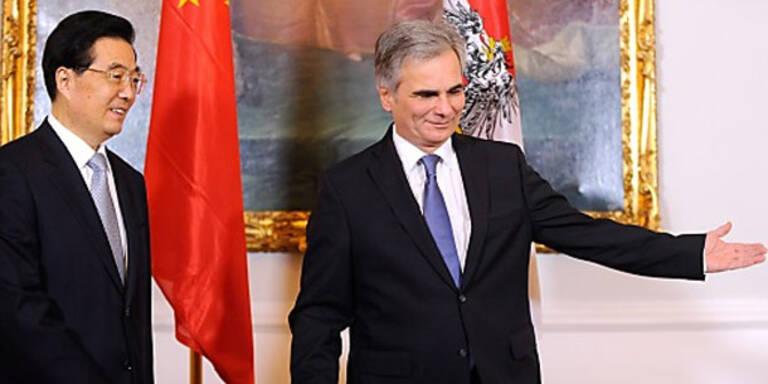 """Chinas Präsident lobt """"beste Beziehungen"""""""