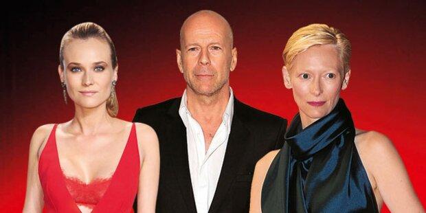 Cannes: Heute Start mit Tilda und Bruce