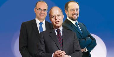 Regierungskoordinatoren Jobloner, Schallenberg, Reichhardt