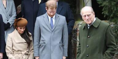 So reagieren Meghan und Harry auf den Tod von Prinz Philip