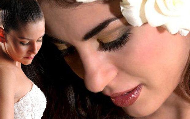 Wimpernextensions für den Hochzeitslook