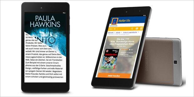 Hofer startet eigenen E-Book-Store