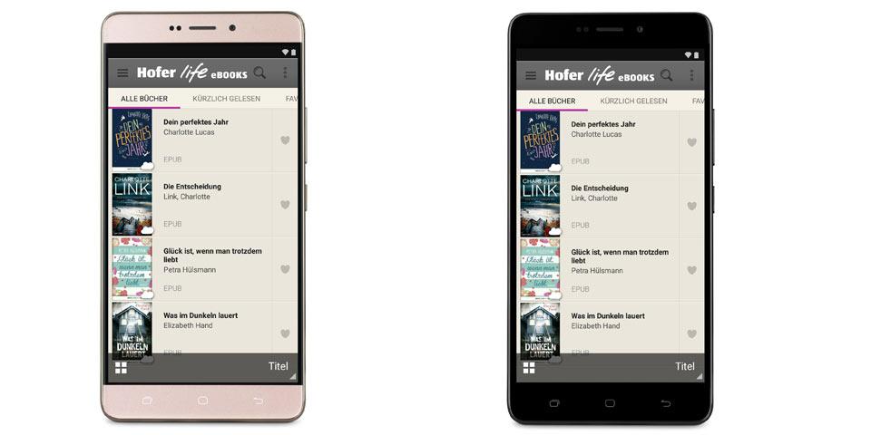Hofer verkauft nach Musik nun auch E-Books