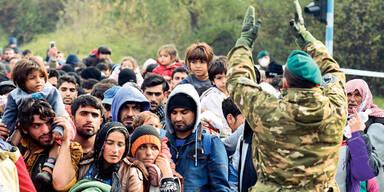 Asyl: Obergrenzen im Sommer erreicht