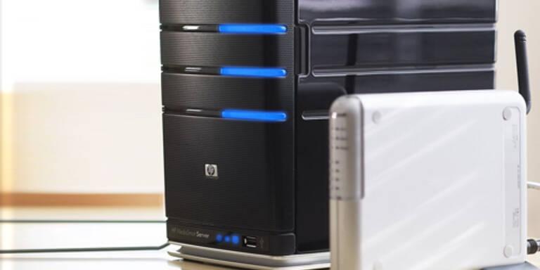 Microsoft präsentiert Home Server