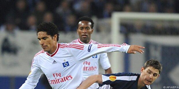 HSV in EL nur 0:0, Atletico schlug Liverpool 1:0