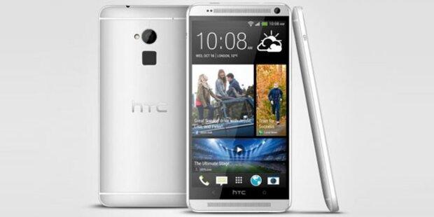 HTC One Max mit Fingerabdruck-Scanner