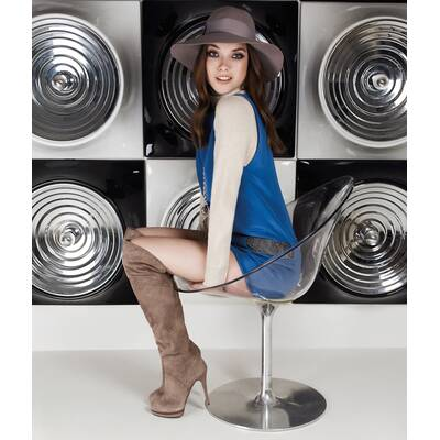 Mode-Aufreger: Overknee-Stiefel