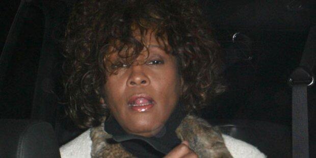 Whitney Houston feierte zwei Tage durch