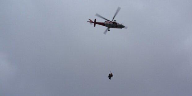 Bergsteiger überlebte 150-Meter-Sturz
