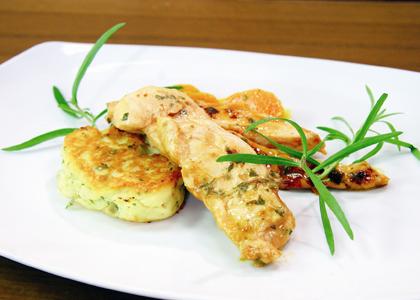 Hühnerbruststreifen von Andi & Alex aus 'Gesünder kochen'
