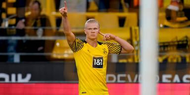 Haaland-Gala bei Dortmund-Sieg gegen Union