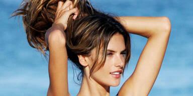 Haare schützen vor UV-Strahlen Chlor Meerwasser