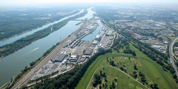 EU-Förderung: Hafen Wien wird ausgebaut