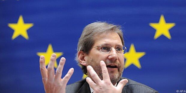 Hahn will alle Regionen weiter fördern