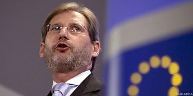 SPÖ zufrieden mit Kommissar Hahn