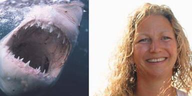 Engländerin wird von Hai gebissen – was ihr Mann mit ihm macht, ist unglaublich