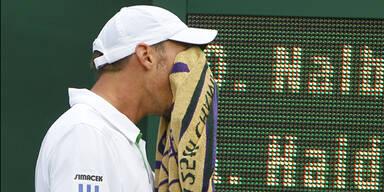 Haider-Maurer in Wimbledon out
