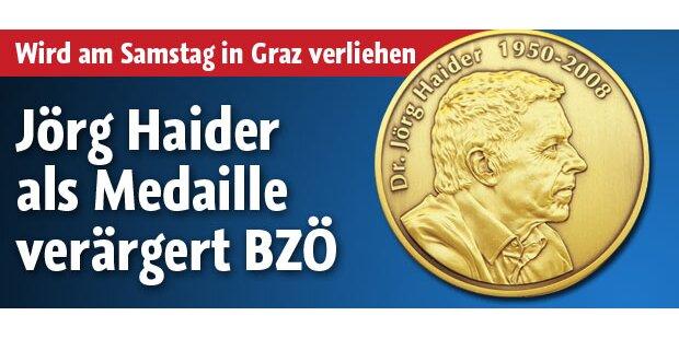 Haider-Medaille verärgert einige im BZÖ