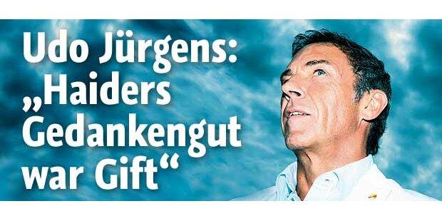 Udo Jürgens: Haider-Attacke