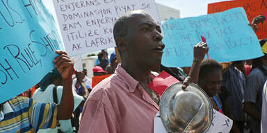 Haiti Proteste Trump
