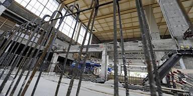 Halle soll im Jänner 2011 in Betrieb gehen