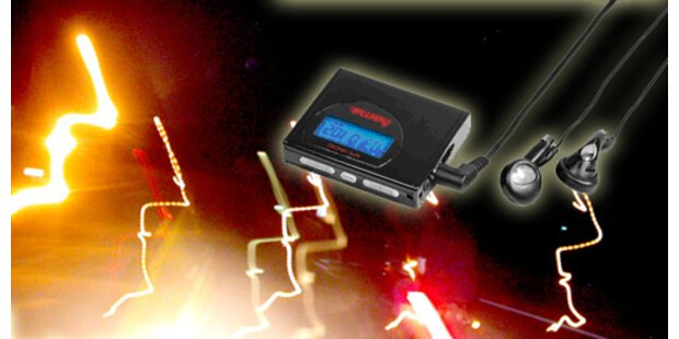 Ultrakompakter MP3-Player mit SD-Kartenslot