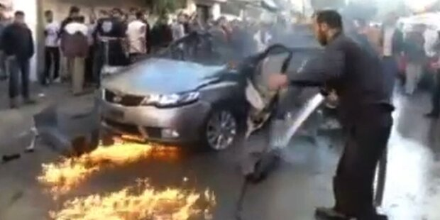 Raketenangriff: Hamas Chef Al Jabari getötet