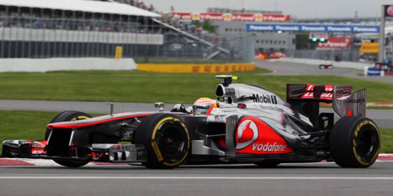 F1: Pedro de la Rosa fährt Mechaniker nieder