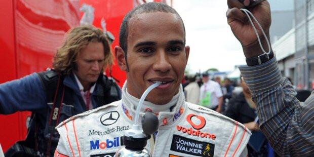 Lewis Hamilton soll vor Filmkamera