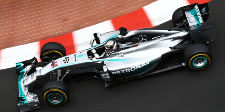 Hamilton auch in Monaco Top-Favorit