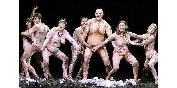 Wilde Orgien bei Hamlet-Inszenierung