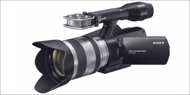 Auszeichnung für Sonys Handycam NEX-VG10E