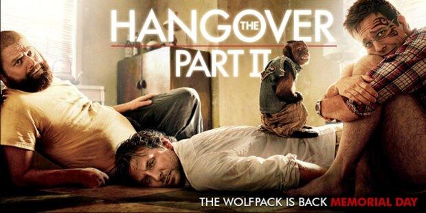 Hangover 2 ist Top Film 2011