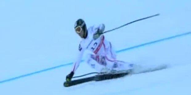 Herren Super-G - Silbermedaille / Hannes Reichelt