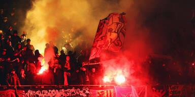 Hooligan-Krieg im deutschen Cup
