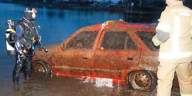 Nikolo-Taucher entdeckt gestohlenes Auto in See