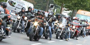 Harley-Davidson Charity Tour startete in Wien