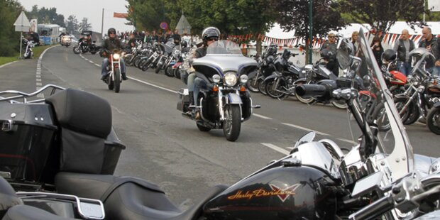 Harley-Motoren dröhnen wieder in Kärnten