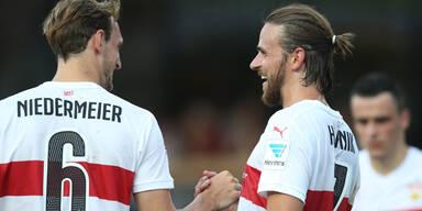 Harnik jetzt mit Beckham-Look