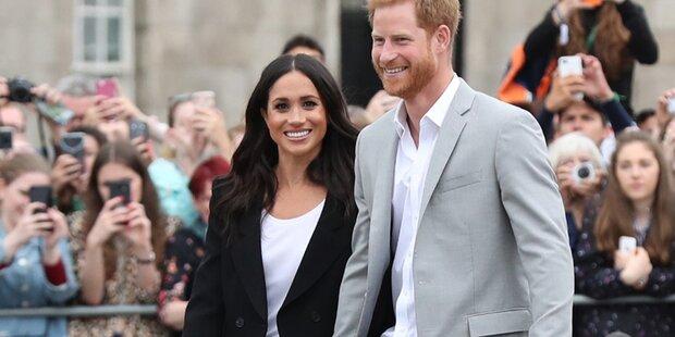 Harry & Meghan: Streits wegen ihrer Outfits?