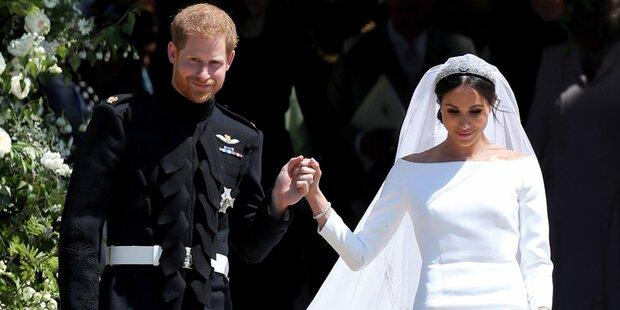 Enthüllt: Prinz Harry brach vor seiner Hochzeit zusammen