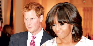 Royal: Harry begeisterte Obama