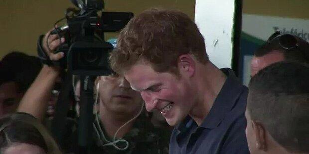 Prinz Harry: Armer, einsamer Royal