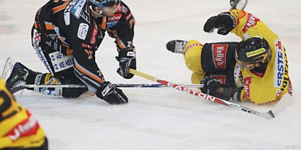Siege für Salzburg und Linz im Eishockey-Play-Off
