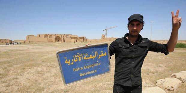 Irakische Armee eroberte Hatra zurück