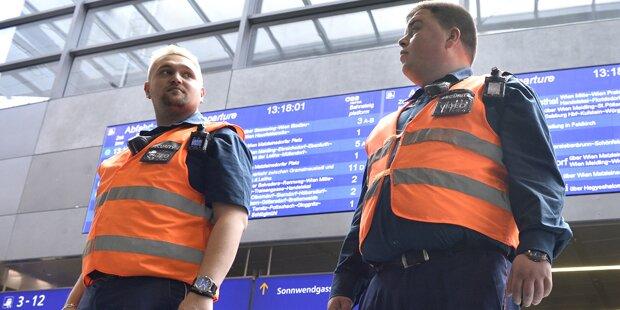 Bursche (17) attackierte Wiener Security